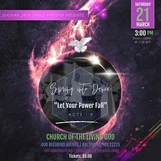 """Spring into Dance VII: """"Let Your Power Fall"""" tickets"""