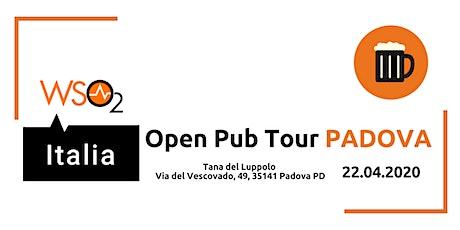 WSO2 ITALIA OPEN PUB TOUR - PADOVA biglietti