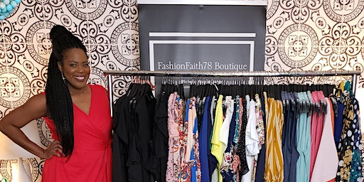 FASHIONFAITH78 BOUTIQUE POPUP WOMENS CLOTHING LAUNCH