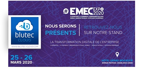 EMEC EXPO - 25 & 26 March 2020 (Blutec Cloud stand) tickets