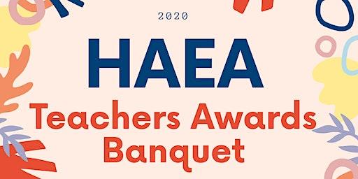 HAEA Teachers Award Banquet