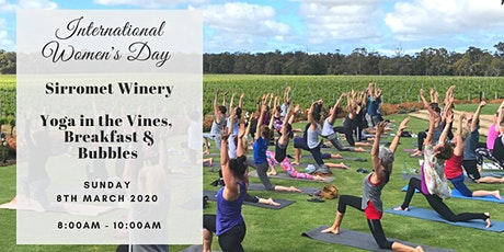 Sirromet Wine + Yoga International Women's Day 2020 tickets