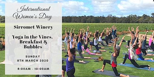 Sirromet Wine + Yoga International Women's Day 2020