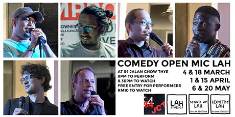 Comedy Open Mic LAH tickets