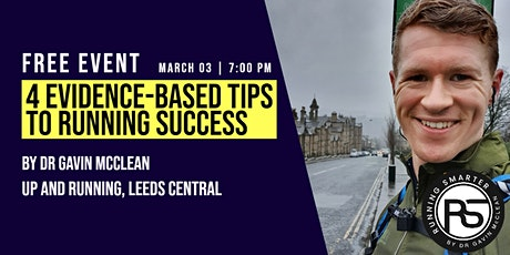 4 Evidence Based Tips To Running Success tickets