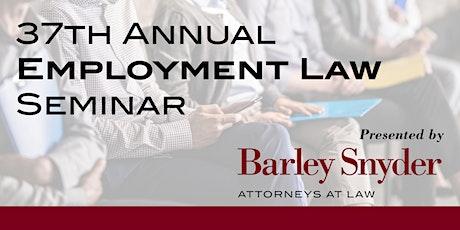 37th Employment Law Seminar tickets