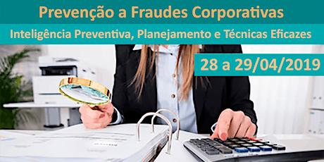 Prevenção a Fraudes Corporativas ingressos