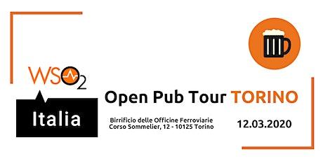 WSO2 ITALIA OPEN PUB TOUR - TORINO biglietti