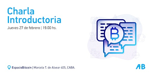 Charla introductoria a Bitcoin y Blockchain