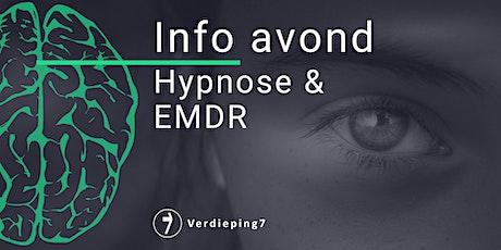 info avond - De kracht van Hypnose en EMDR tickets