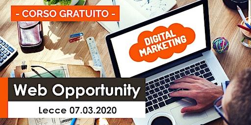 Corso Web Opportunity