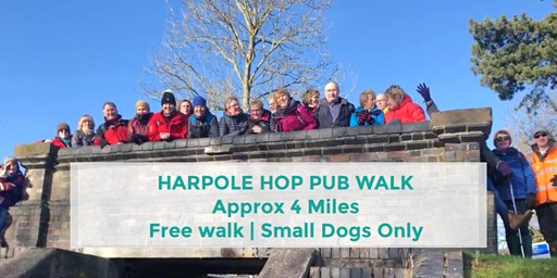 HARPOLE HOP | APPROX 4 MILES | MODERATE | NORTHANTS