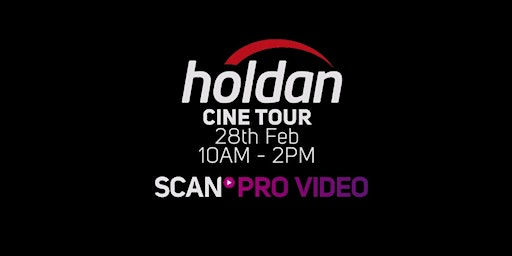 Holdan Cine Tour with Scan Pro Video
