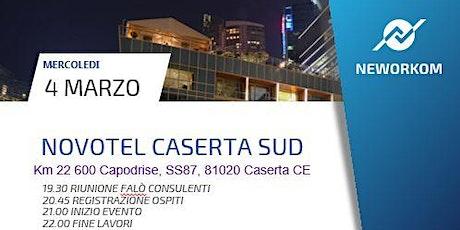 PRESENTAZIONE BUSINESS MEETING NOVOTEL CASERTA tickets