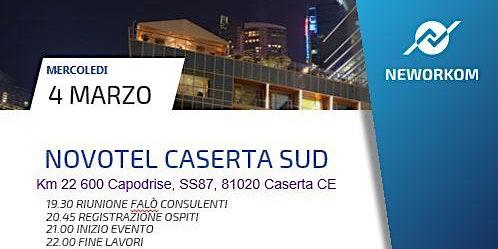 PRESENTAZIONE BUSINESS MEETING NOVOTEL CASERTA
