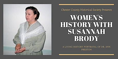 Women's History Program with Susannah Brody tickets