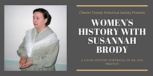 Women's History Program with Susannah Brody