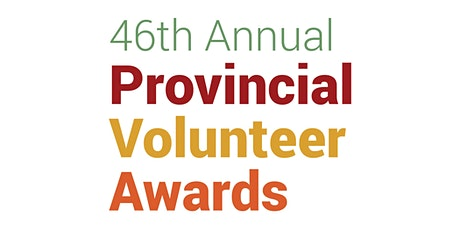 2020 Nova Scotia Provincial Volunteer Awards tickets