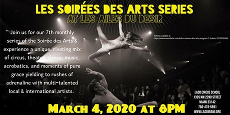 Les Soirées des Arts: Program 7 tickets