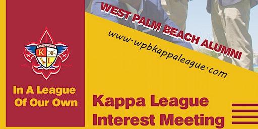 Kappa League Interest Meeting