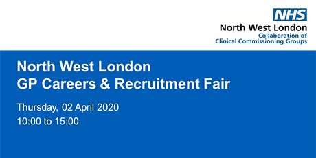 North West London GP careers and recruitment fair tickets