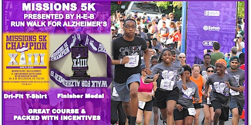 13th Annual Missions 5K Run | Walk for Alzheimer's