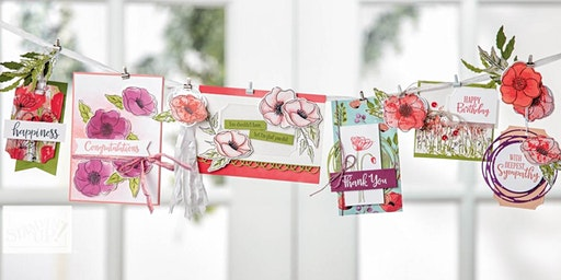 Makers March: Greeting Card Making Class - Set of 6 Cards!