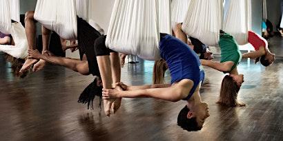 Aerial Yoga, Brunch, & Mimosas
