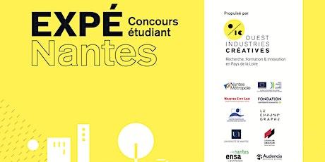 Jury Final du Concours EXPÉ[Nantes] billets