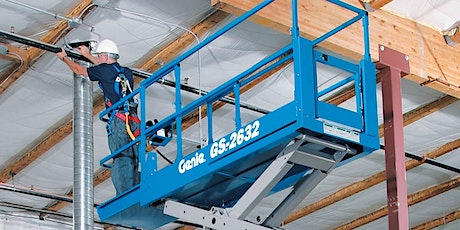 *FREDERICTON* Fall Protection & Aerial Lift (Scissor & Boom Lifts) tickets