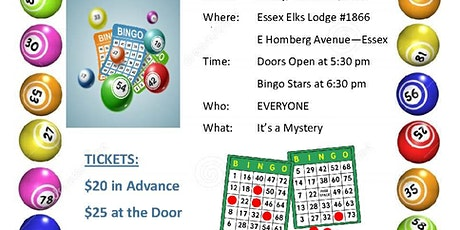 Mystery Bingo for After Prom Party 2020 tickets