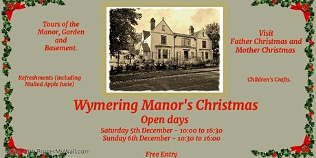 Wymering Manor's Christmas Open Day (Saturday) tickets
