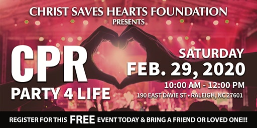 CPR Party 4 Life Event Hosted By Christ Saves Hearts Foundation