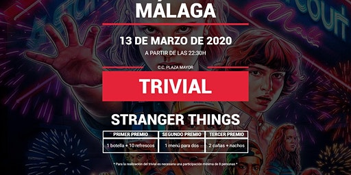 Trivial Especial Stranger Things en Pause&Play Plaza Mayor