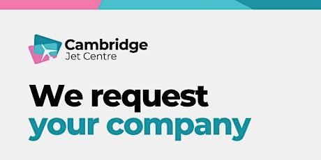 Cambridge Jet Centre's VIP Event tickets