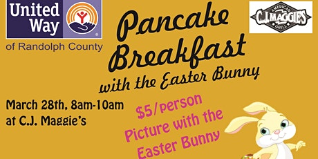 Breakfast with the Easter Bunny tickets