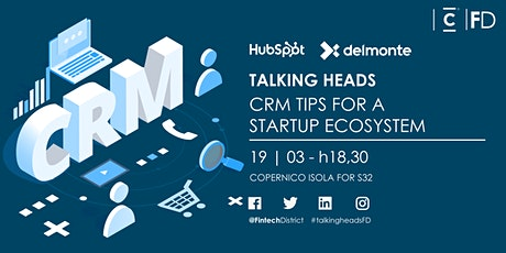 Talking Heads - CRM tips for a startup ecosystem tickets