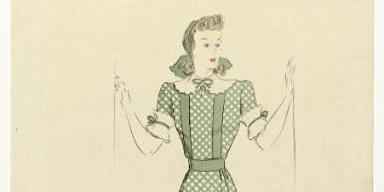 Lezing Inventief met naald en draad - mode 1940-1945