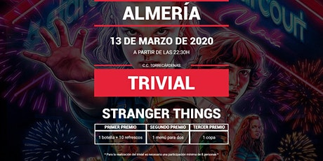 Trivial Especial Stranger Things en Pause&Play Torrecárdenas tickets