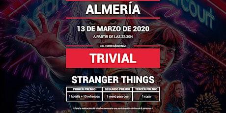 Trivial Especial Stranger Things en Pause&Play Torrecárdenas entradas