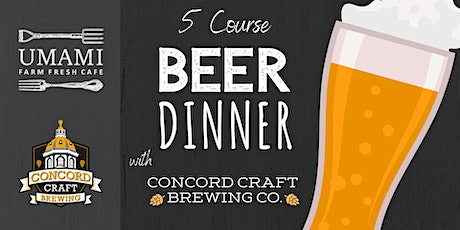 Beer Dinner tickets