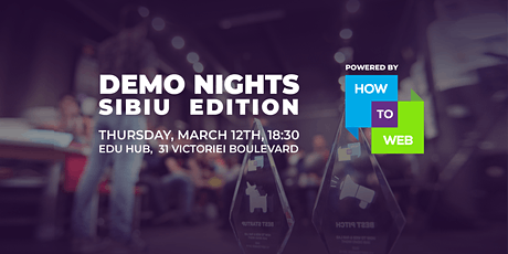 Demo Nights // Sibiu Edition tickets