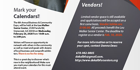 6th Annual Business and Community Expo tickets