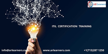ITIL V4 Certification Training in Eureka, CA,USA tickets