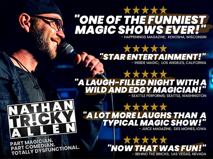 NATHAN TRICKY ALLEN - COMEDY SHOW image