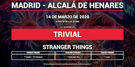 Trivial Especial Stranger Things en Quadernillos entradas