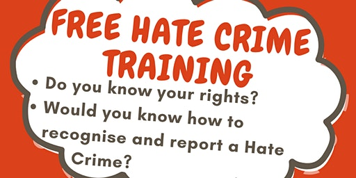Hate Crime Awareness Training