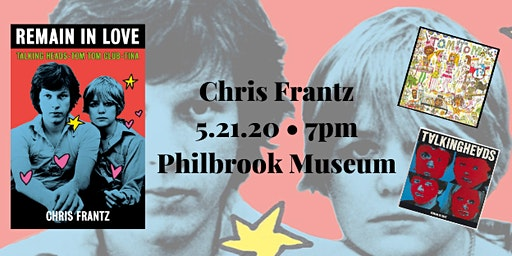 An Evening with Chris Frantz of Talking Heads and Tom Tom Club