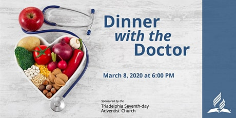 Dinner with the Doctor--Mar 8, 2020 tickets
