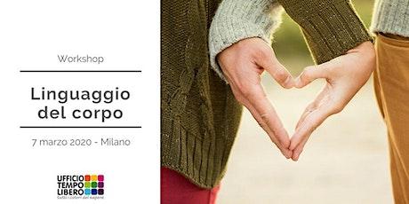 Workshop - Linguaggio del corpo tickets